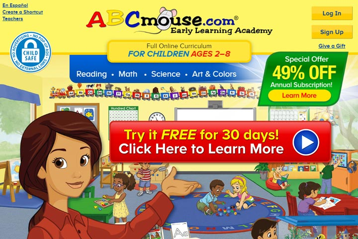 ABCMouse Online Early Learning Free
